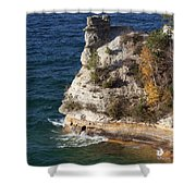 Pictured Rocks National Lakeshore 2 Shower Curtain