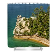 Pictured Rocks National Lakeshore Shower Curtain