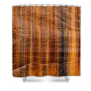 Pictured Rocks Vibrant Layers Shower Curtain