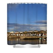 Picturesque Findochty Shower Curtain