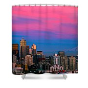 Picturesque Seattle Shower Curtain