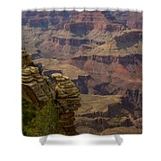 Picturesque View Of The Grand Canyon Shower Curtain
