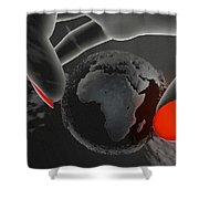 Piece Of Earth Shower Curtain