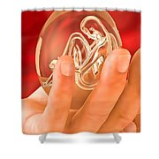 Piece Of Life Shower Curtain