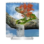 Piece Of Nature Shower Curtain