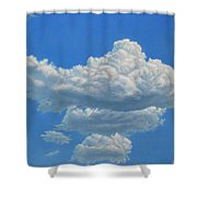 Piece Of Sky 3 Shower Curtain by James W Johnson