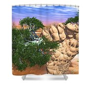 Piece Of Wasteland Shower Curtain