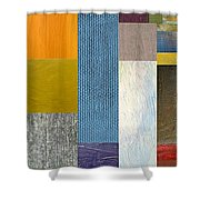 Pieces Parts Ll Shower Curtain