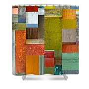 Pieces Parts Lll Shower Curtain