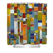 Pieces Parts Vl Shower Curtain