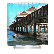 Pier 60 - Clearwater Florida  Shower Curtain