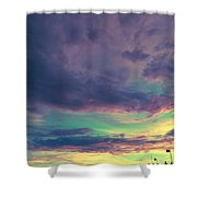 Pier Of Dreams Shower Curtain