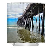 Pier Out Shower Curtain