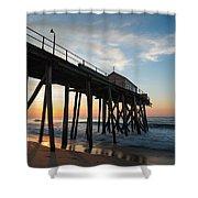 Pier Side Shower Curtain