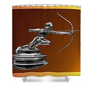 Pierce Arrow Hunter Mascot Shower Curtain