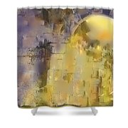Piercing The Castle Walls Shower Curtain