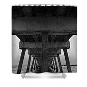Pierhenge Il Shower Curtain
