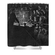 Pierre Curie (1859-1906) Shower Curtain