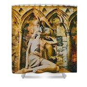 Pieta Masterpiece Shower Curtain