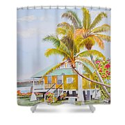 Pigeon Key - Home Shower Curtain