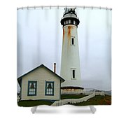 Pigeon Point Light Shower Curtain