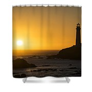 Pigeon Point Lighthouse Shower Curtain