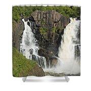Pigeon River High Falls 2 Shower Curtain