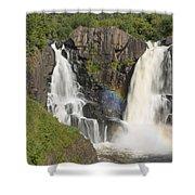 Pigeon River High Falls 4 Shower Curtain