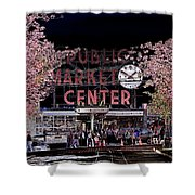 Pike Place Market IIi Shower Curtain
