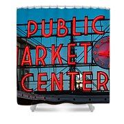 Pike Place Public Market Seattle Shower Curtain