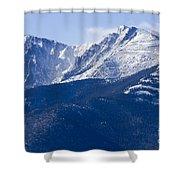 Pikes Peak Shower Curtain