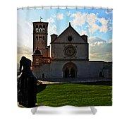 Pilgrim Shower Curtain