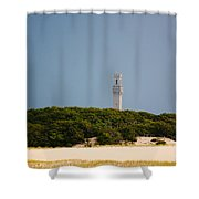 Pilgrim Monument Provincetown Shower Curtain
