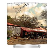 Pilgrims Hotel And Stalls Shower Curtain