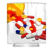 Pill Cocktail    Shower Curtain