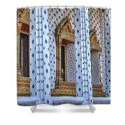 Pillars Shower Curtain
