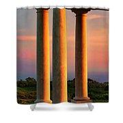 Pillars Of Life Shower Curtain