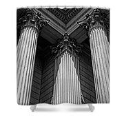 Pillars Of Strength Shower Curtain