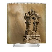 Pillars The Forgotten Series 07 Shower Curtain
