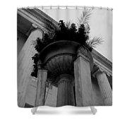Pillars Upon Pillars Shower Curtain