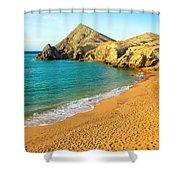Pilon De Azucar Beach Shower Curtain