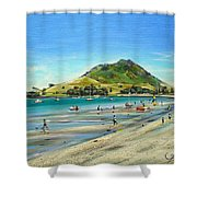Pilot Bay Mt M 050110 Shower Curtain