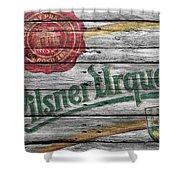 Pilsner Urquell Shower Curtain