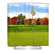 Pin High Shower Curtain