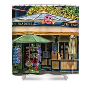 Pin Traders Downtown Disneyland 02 Shower Curtain