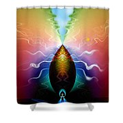 Pine Cone Dreams Shower Curtain