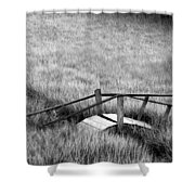 Pine Creek Bridge Shower Curtain