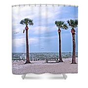 Pine Island Shower Curtain