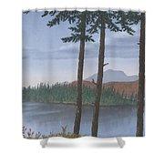 Pine Island Shower Curtain