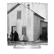 Pine Ridge Agency, C1891 Shower Curtain
